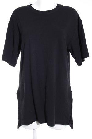 """MTWTFSSWEEKDAY Shirtkleid """"Eli Tee Crepe Dress"""" schwarz"""