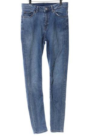 MTWTFSSWEEKDAY Skinny Jeans blau Casual-Look