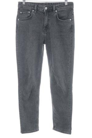 MTWTFSSWEEKDAY Skinny Jeans dunkelgrau Casual-Look