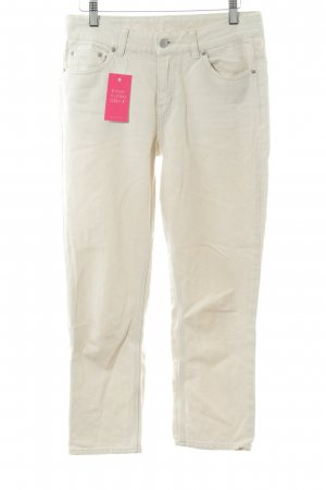 MTWTFSSWEEKDAY Slim Jeans creme Casual-Look