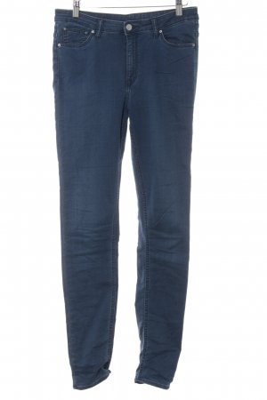 MTWTFSSWEEKDAY Stretch Jeans dunkelblau Casual-Look