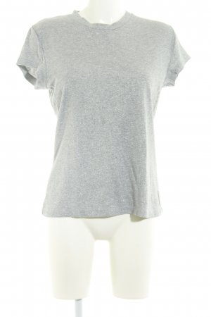 MTWTFSSWEEKDAY T-Shirt silberfarben Casual-Look