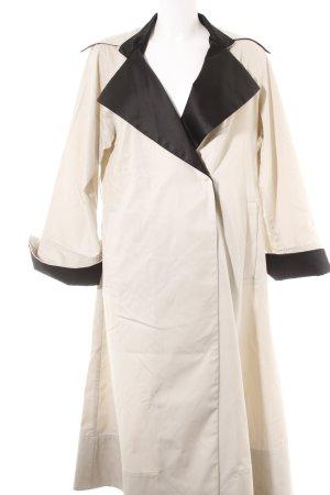 MTWTFSSWEEKDAY Trenchcoat creme-schwarz Casual-Look