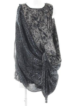 MTWTFSSWEEKDAY Tunikakleid abstraktes Muster extravaganter Stil
