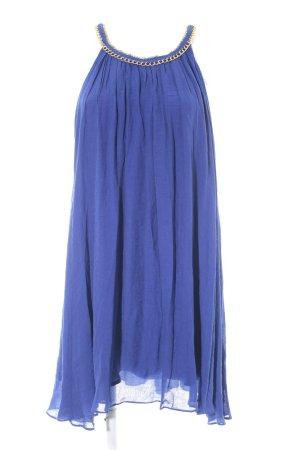 Mudo Collection Chiffonkleid blau Beach-Look