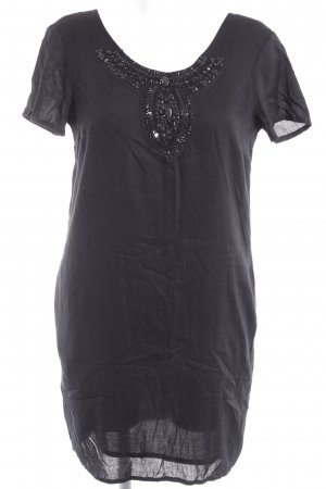 Mudo Collection Shortsleeve Dress black casual look