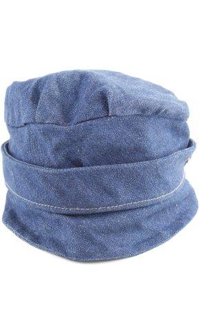 Mühlbauer Ballonmütze blau Casual-Look