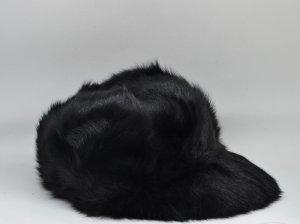 Mühlbauer Sombrero de piel negro Piel