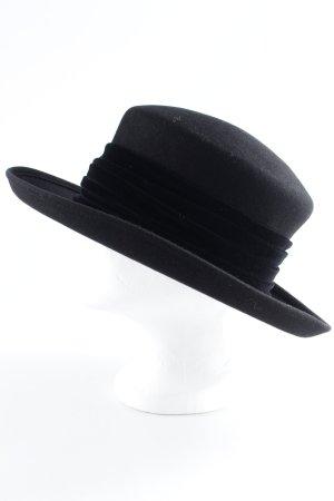 Mühlbauer Cappello in feltro nero stile casual