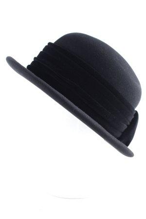 Mühlbauer Cappello a bombetta nero stile casual