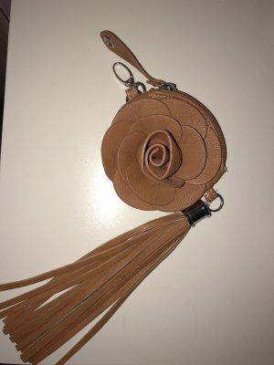 Key Chain cognac-coloured