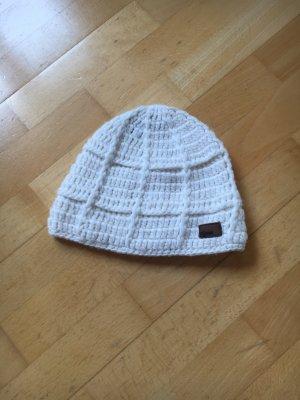 Barts Cappello a maglia bianco