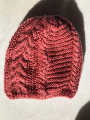 Pieces Crochet Cap salmon