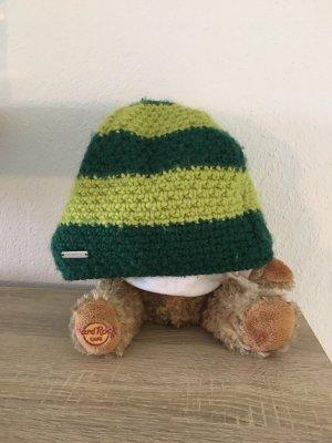 stöhr Cappello all'uncinetto verde scuro-verde prato