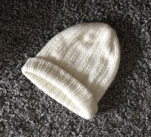 Amisu Beanie white-natural white