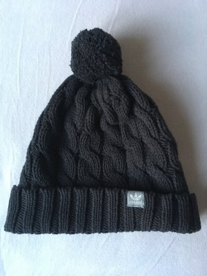 Adidas Knitted Hat black cotton