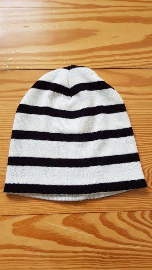 Asos Bonnet blanc-noir
