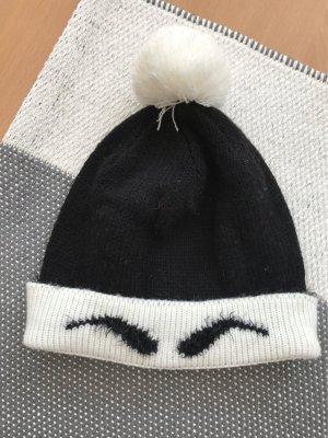 Cap black-white