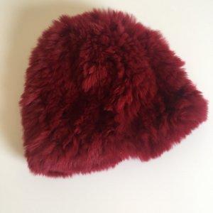 Mütze aus Hasenfell  -