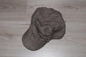 Boina marrón grisáceo-taupe Algodón