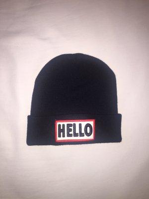"""Mütze / Beanie """"HELLO"""""""