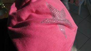 Gorro rosa neón-magenta Algodón