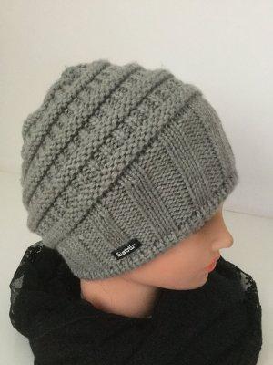 Eisbär Chapeau en tricot gris clair