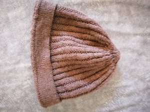 Knitted Hat brown