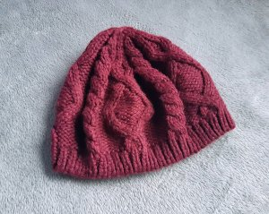 H&M Knitted Hat multicolored polyacrylic