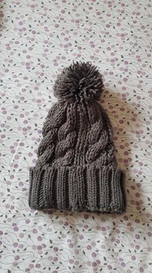 H&M Crochet Cap anthracite