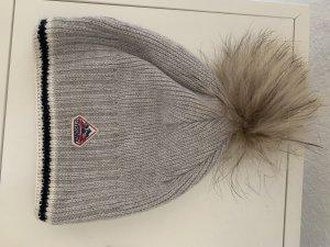 Sombrero de piel multicolor