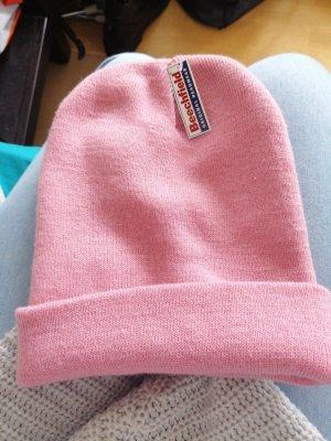 Beechfield Original Headwear Chapeau en tricot rosé