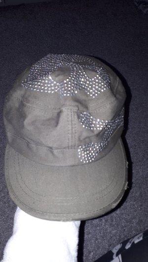 Cappellino grigio-verde