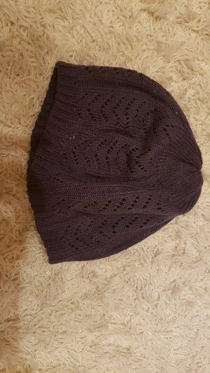 Bijou Brigitte Cap dark violet polyacrylic