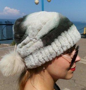 Sombrero de piel multicolor Pelaje