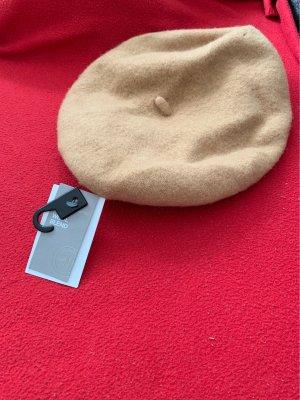 H&M Bonnet à pompon beige-chameau