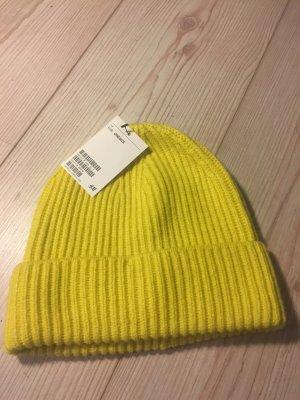 Mütze gelb H&M