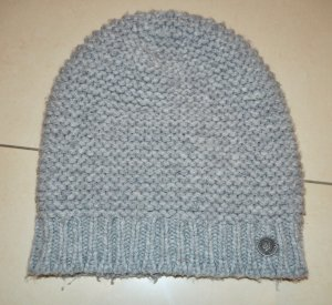 Marc O'Polo Knitted Hat silver-colored
