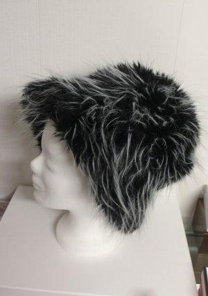 Mütze Hut Fake Fell Pelz chic