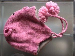 Mütze im Schweinchenlook