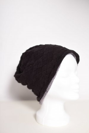 Fabric Hat black-grey