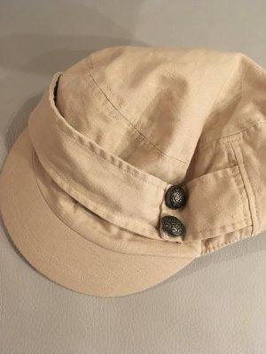 Mütze, Kappe, Käppchen, beige, wie NEU