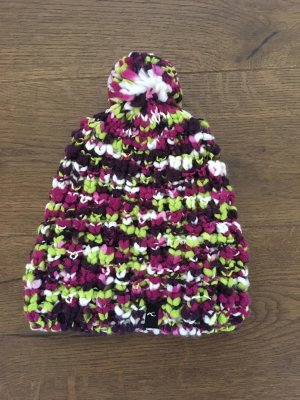 Kjus Bonnet en crochet multicolore acrylique