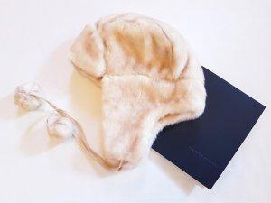 Aviator Hat multicolored fake fur