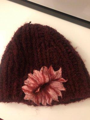 Fabric Hat bordeaux