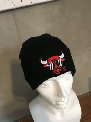 Mütze mit Bullenkopf Schwarz