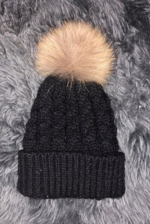 Fur Hat black-light brown