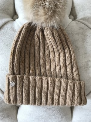 Esprit Fur Hat multicolored