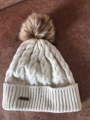 Knitted Hat natural white-beige