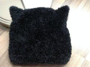 Mütze mit Ohren in Felloptik Öhrchen